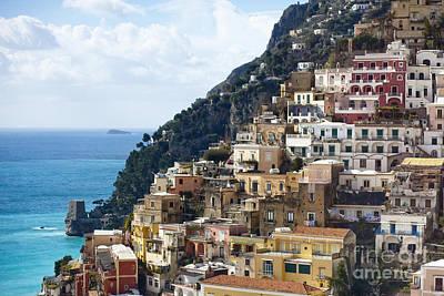 Amalfi Coast Art Print by Andre Goncalves