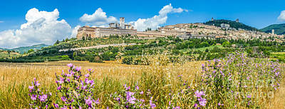 Cityscape Photograph - Ancient Town Of Assisi, Umbria, Italy by JR Photography