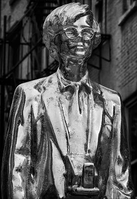 Sculpure Photograph - Andy Warhol Statue Union Square Nyc by Robert Ullmann
