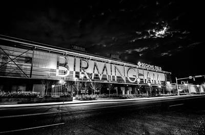 Photograph - April 2015 - Birmingham Alabama Regions Field Minor League Baseb by Alex Grichenko