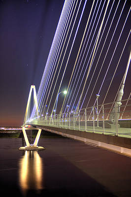 Arthur Ravenel Jr. Bridge  Art Print by Dustin K Ryan