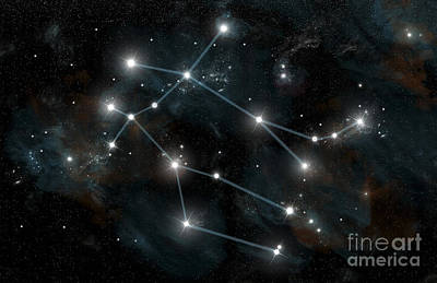 Constellation Digital Art - Artists Depiction Of The Constellation by Marc Ward