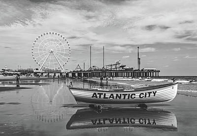 Photograph - Atlantic City by Library Of Congress