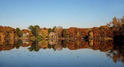 Photograph - Autumn Reflections by Lilia D