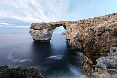 Maltese Photograph - Azure Window - Gozo by Joana Kruse