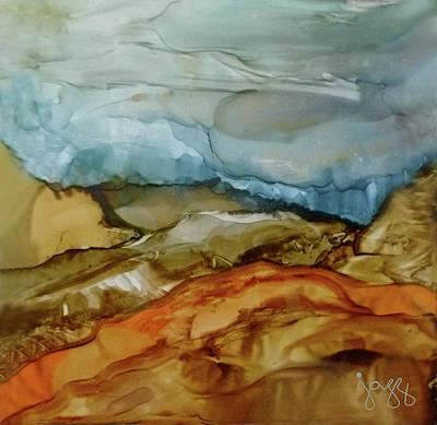 Jazz Art Painting - 7-b Landscape by Jazz Art