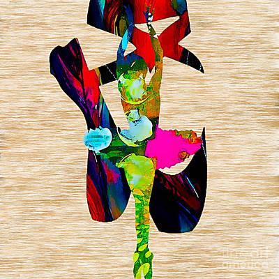 Dancer Mixed Media - Ballerina by Marvin Blaine