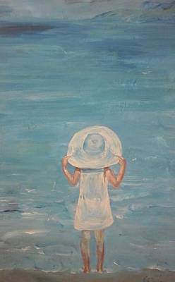 7. Blue Colour  Sea N Sky Original by Evi Panteleon
