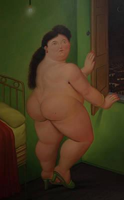 Bogota Museo Botero Art Print