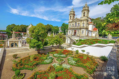 Photograph - Braga Sanctuary Portugal by Benny Marty