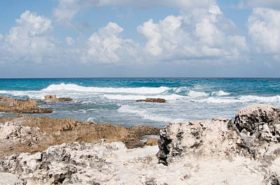 Digital Art - Cancun Beach Scenes by Carol Ailles