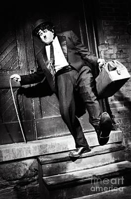 Sad Clown Photograph - Charlie Chaplin by Oleksiy Maksymenko