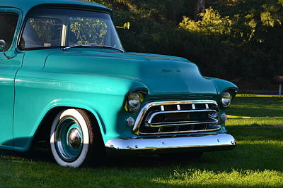 Photograph - Chevy Pickup by Dean Ferreira