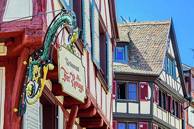 Vineyards Of Alsace Photograph - Colmar France by Jon Berghoff