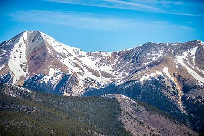 Claude Monet - Colorado Rocky Mountains Near Monarch Pass by Alex Grichenko