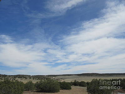Landscapes Royalty-Free and Rights-Managed Images - Concho Landscape by Frederick Holiday