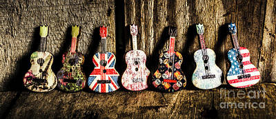 Folk Music Wall Art - Photograph - 7 Continents Of Sounds by Jorgo Photography - Wall Art Gallery