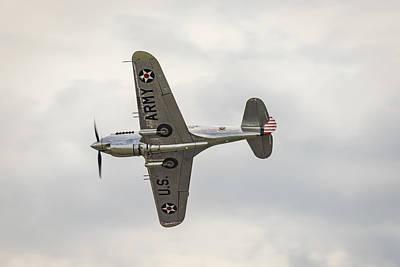 Photograph - Curtiss-wright P-40c Warhawk by Gary Eason
