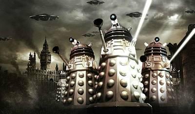 Doctor Who                     Art Print by Fran Sotu