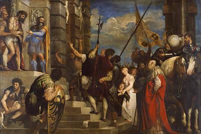 Ecce Homo Painting - Ecce Homo by Titian