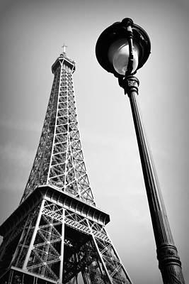 Art Print featuring the photograph Eiffel Tower by Chevy Fleet