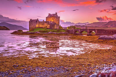 Photograph - Eilean Donan Castle by Benny Marty