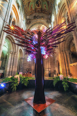 Photograph - Ely Cathedral Flower Festival by James Billings