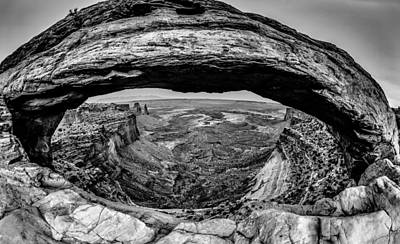 famous Mesa Arch in Canyonlands National Park Utah  USA Art Print by Alex Grichenko