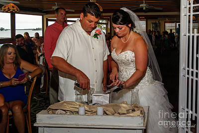 Photograph - Faulkner Wedding by Les Greenwood