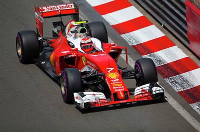 Ferrari Formula 1 Art Print by Srdjan Petrovic