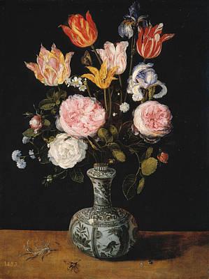 Object Painting - Flower Vase by Jan Brueghel the Elder