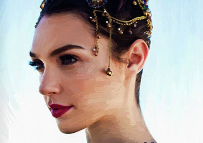 Earnings Digital Art - Gal Gadot Art by Best Actors