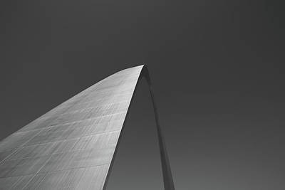 Infrared Photograph - Gateway Arch by Michael Munster