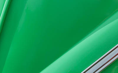 Green Digital Art - Green by Super Lovely