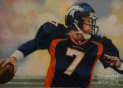 John Elway Painting - #7 by Gregory Kummet