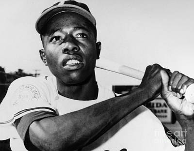 Hank Aaron (1934- ) Art Print by Granger