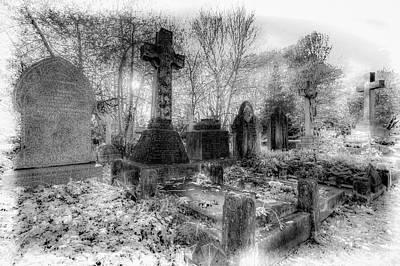 Photograph - Highgate Cemetery London by David Pyatt