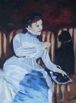 Painting - Homage To Cassatt by Masami Iida