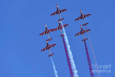 Photograph - Iskra Polish Air Force Team by George Atsametakis