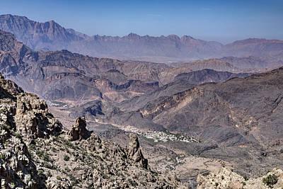 Jebel Shams - Oman Art Print