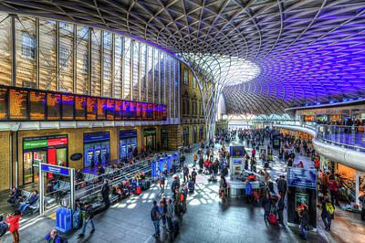 Photograph - Kings Cross Station London by David Pyatt