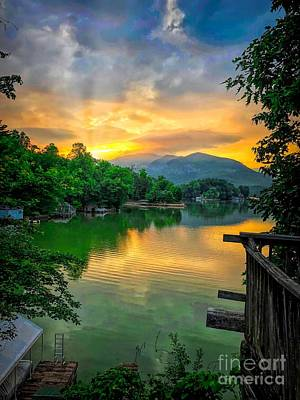 Lake Lure Art Print
