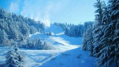 Colorful Digital Art - Landscape N More by Landscape Art