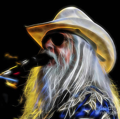 Mixed Media - Leon Russell Collection by Marvin Blaine