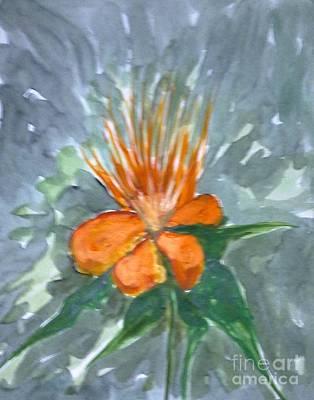 Love Flowers Art Print by Baljitchadha