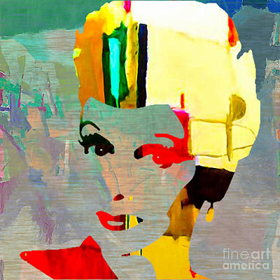 Mixed Media - Lucille Ball by Marvin Blaine