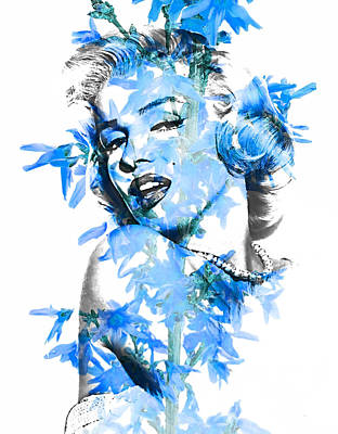 Marilyn Monroe Collection Art Print by Marvin Blaine
