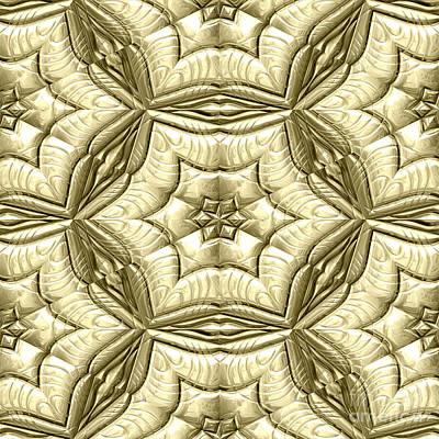 Mayan Ornaments Art Print