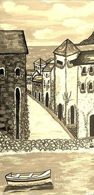 Memories Of Italy Original by Scott D Van Osdol