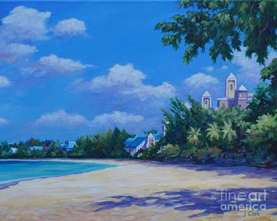 7-mile Beach Ritz Carlton   20x16 Art Print by John Clark